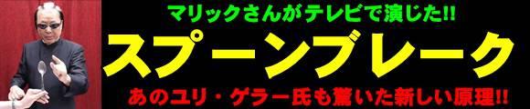 『【ご予約商品】 スプーンブレーク』